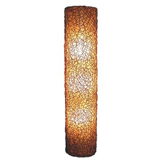Decorative Elmo Brown Geometric Transitional Hanging Pendant Lamp