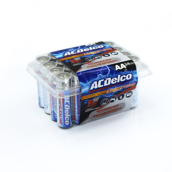 ACDelco 24-count Super Alkaline AA Batteries