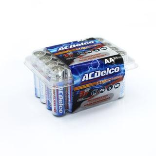 ACDelco 24-count Super Alkaline AA Batteries