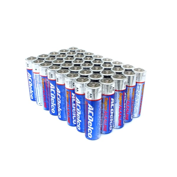 ACDelco 40-count Super Alkaline AA Batteries