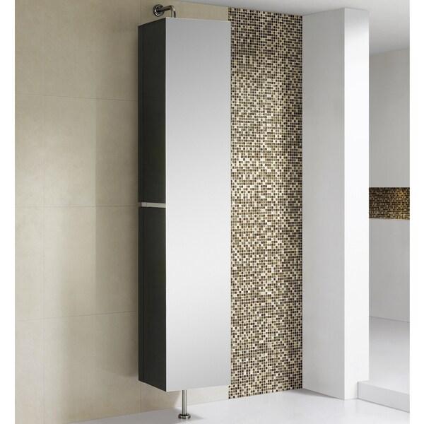 Somette Fine Fixtures Sundance 15-inch High Gloss Linen Cabinet
