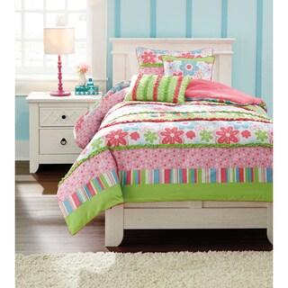 Signature Designs by Ashley Kiwi Multicolor Floral 6-piece Comforter Set