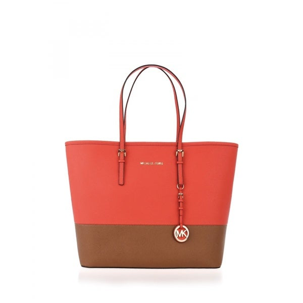 MICHAEL Michael Kors Jet Set Travel Medium Heritage Mandarin
