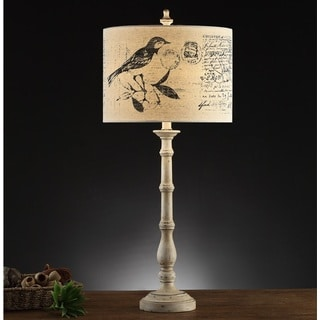 Vintage Birdsong 33-inch Table Lamps (Set of 2)