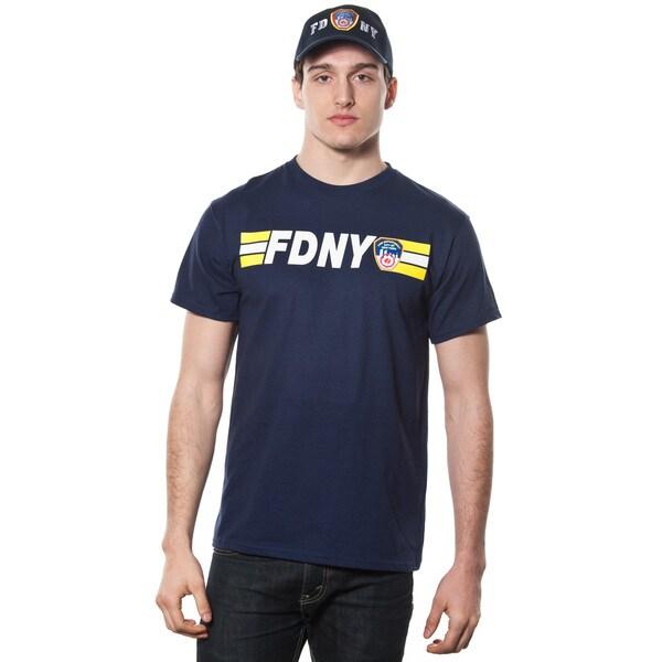 FDNY Adult Navy Keep Back 200 Feet Tee