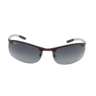 Ray-Ban RB 8305 142/T3 Sport Sunglasses, Light Carbon Frame/Polarized Grey Lens