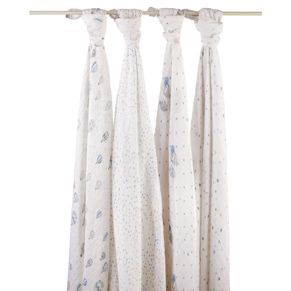 aden + anais Night Sky Swaddle (Pack of 4)