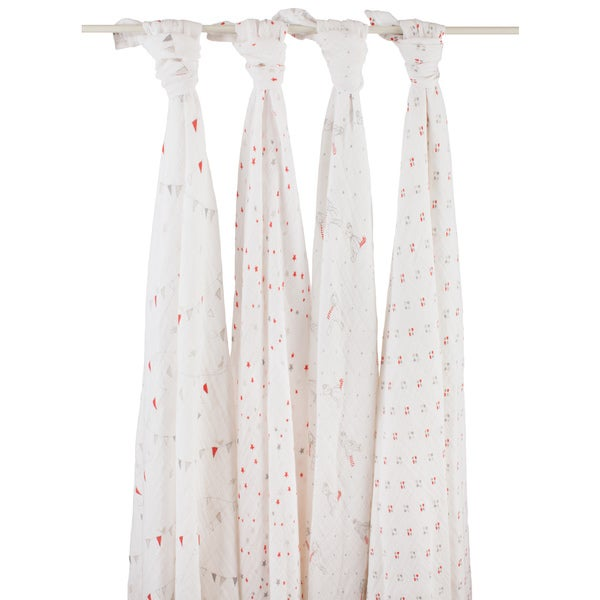 aden + anais Make Believe Swaddle (Pack of 4)