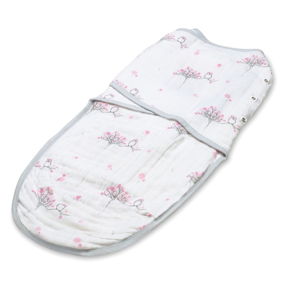 aden + anais For The Birds Owl Small Easy Swaddle