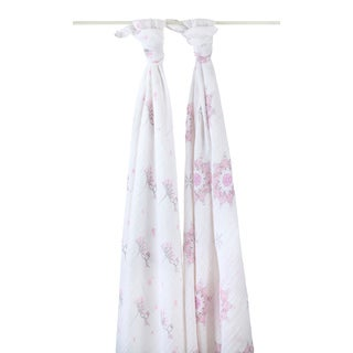 Aden and Anais For The Birds Classic Swaddle (Pack of 2)