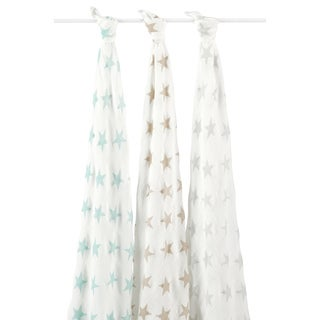 Aden and Anais Milky Way Swaddle (Pack of 3)