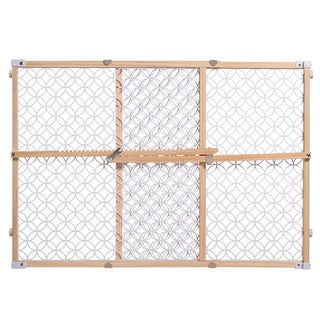 Summer Infant Secure Pressure Mount Wood and Plastic Gate