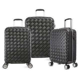 Olympia T-Line Gon 3-piece Polycarbonate Hardside 4-wheel Spinner Luggage Set