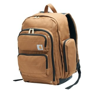 Carhartt Brown Legacy Deluxe Work Pack Backpack