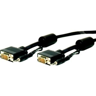 Comprehensive Standard Series HD15 plug to plug cable w/audio 15ft