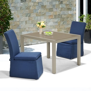 Upton Home Riviera Outdoor Side Chairs 2pc Set
