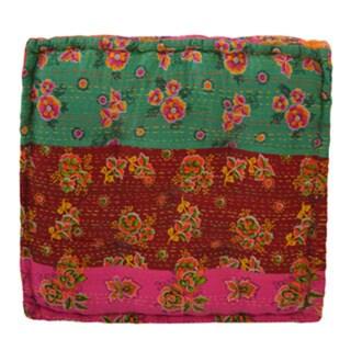 Floral Floor Cushion (India)
