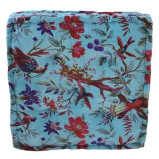 Large Velvet Floor Cushion (India)