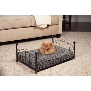 HomePop Sara Decorative Metal Pet Bed