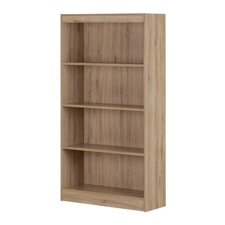 South Shore Axess 4-Shelf Bookcase, Royal Cherry