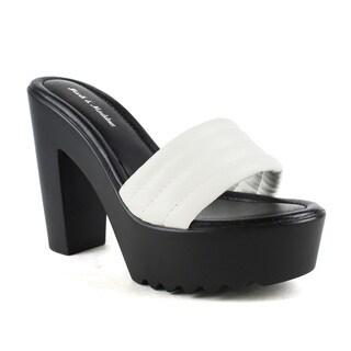 Mark and Maddux Women's Beck-03 Slip-on High Heel Sandals