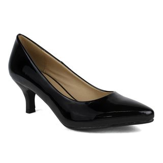 Mark and Maddux Women's Kei-01 Pointy-toe Pump