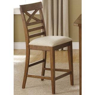 Chardonnay Splendor Counter Stools Set Of 2 13332877 Overstock Com Shopping Great Deals On Bar Stools