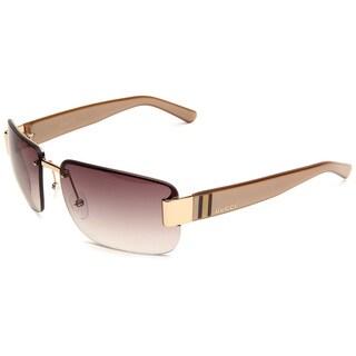 Gucci Women's 2851/S Metal Rectangular Sunglasses