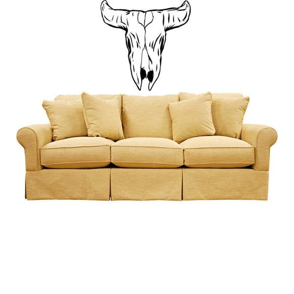 Buffalo Skull Vinyl Wall Art