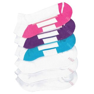 Hanes All Day Dry Cushioned Women's Low-Cut Athletic Socks (Pack of 6)