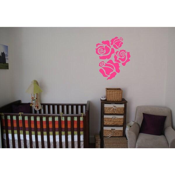 Roses Vinyl Wall Art