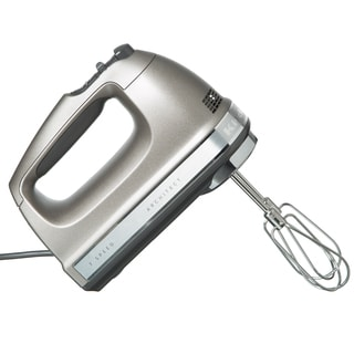 KitchenAid RRKHM7CU Contour Silver 7-speed Architect Digital Hand Mixer (Refurbished)