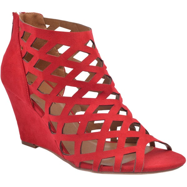 Bonnibel Trina-2 Women's Cut-out Wedge Sandals