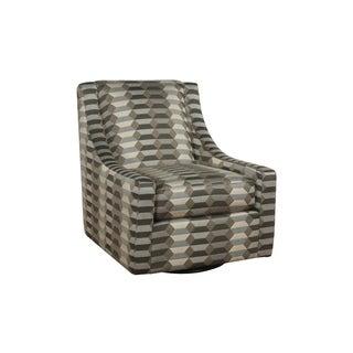 Bauhaus Pope Maye Mineral Swivel Accent Chair