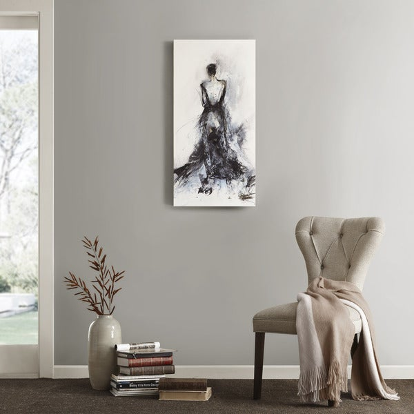 Madison Park Elise Green 'Belle Of The Ball' Printed Canvas with Gel Coat