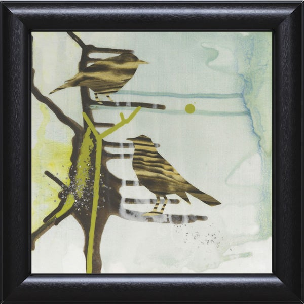 Gina Miller 'Chit Chat Chirp' 22 x 22 Framed Art Print