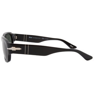 Persol PO3068S Classic Black Framed Polarized Sunglasses