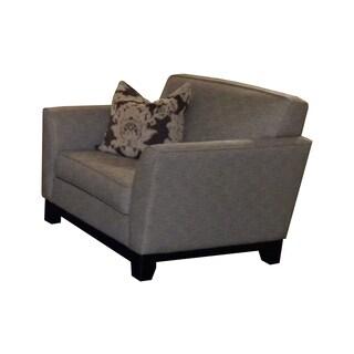 Bauhaus Drake Smokey Grey Chenille Suite Chair