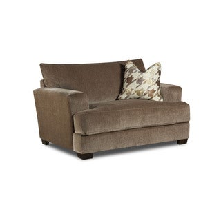 Bauhaus Coble Taupe Deluxe Cuddler Suite Chair