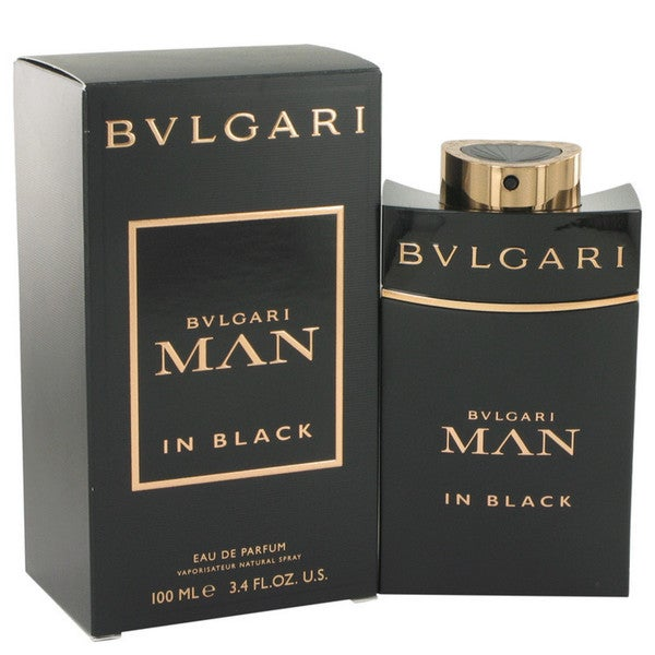 Bvlgari Man in Black Men's 3.4-ounce Eau de Parfum Spray