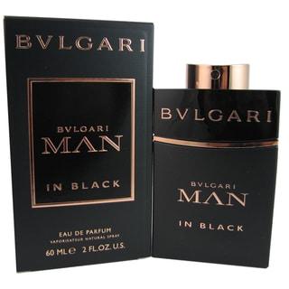 Bvlgari Man in Black Men's 2-ounce Eau de Parfum Spray