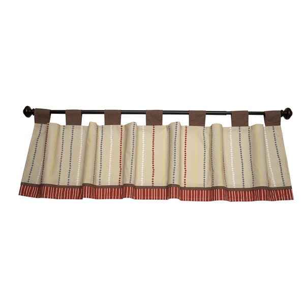 NoJo Amazing Animals Window Valance
