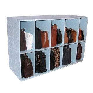 Luxury Living Park-a-Purse Handbag Storage Shelf Organizer