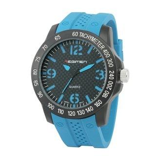 Regimen Men's RW1012 C6 Blue Analog Watch