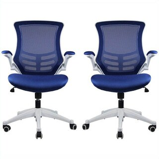 Manhattan Comfort Lenox Mesh Adjustable Office Chair (Set of 2)