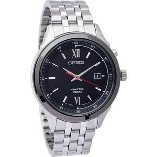 Seiko Men's SKA659 Kinetic Stainless Steel Kinetic Powered Watch