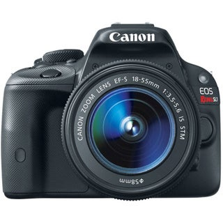 Canon EOS Rebel SL1 Digital SLR Camera with 18-55mm and 75-300mm Lenses Bundle