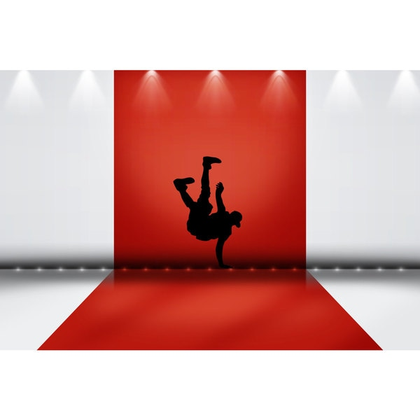 Break Dance Sticker Vinyl Wall Art 15186564