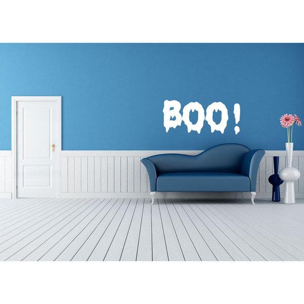 Boo Halloween Sticker Vinyl Wall Art