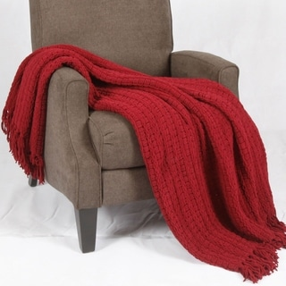 BNF Home Space Yarn Throw Blanket